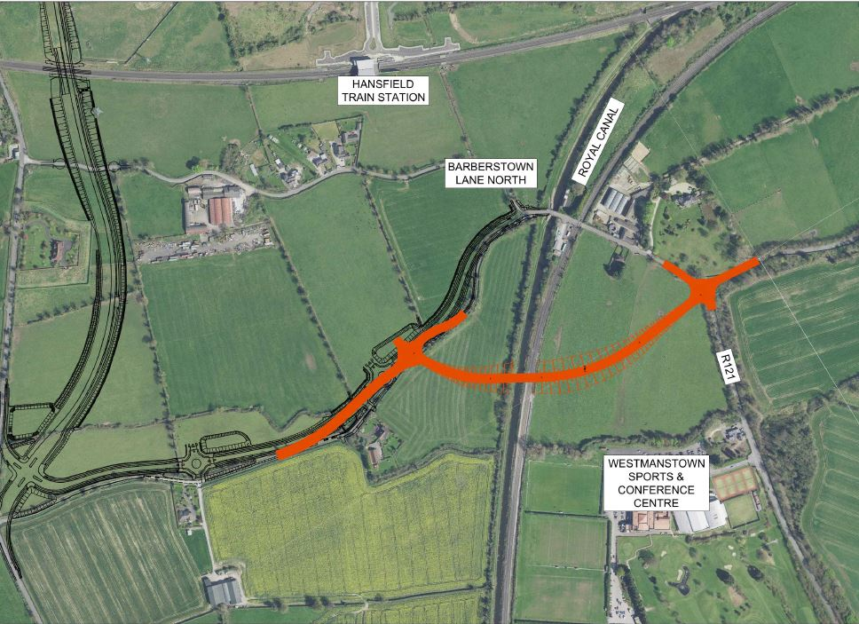 Emerging Preferred Option Barberstown Level Crossing Replacement