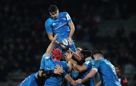 image of Leinster lineout