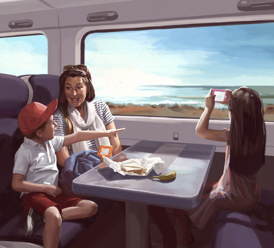 Rediscover the Joy of the Train