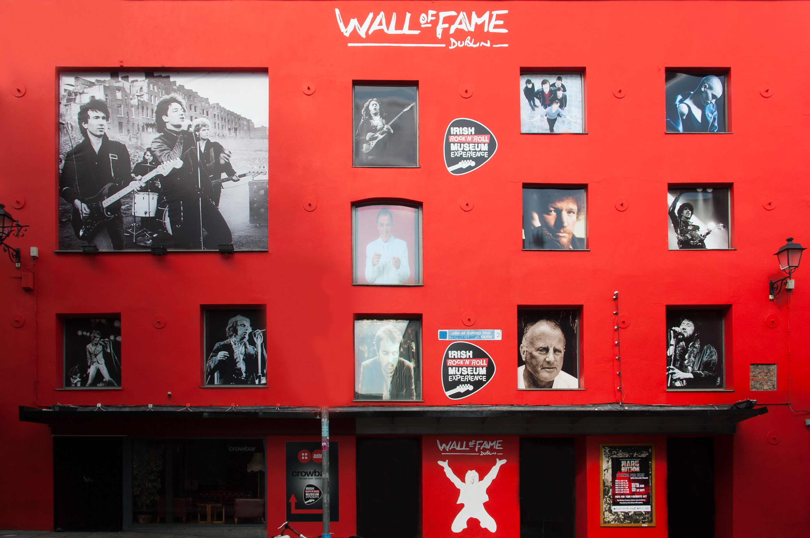 Hall of Fame (courtesy of Irish Rock n Roll Museum